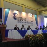 Vice Presidente Lic. Oscar Ortiz en II Feria de Educación e Innovación Financiera