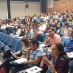"""Ponencia """"Inclusión Financiera: Dinero Electrónico"""" en el marco del evento """"Día del Ahorro"""" de la UCA, miércoles 17 de octubre de 2018."""