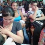 Beneficiarios de INJUVE en Mejicanos reciben charla de educación financiera sobre El Ahorro, lunes 22 de octubre de 2018.
