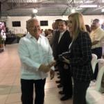 Presidente de la República brinda reconocimiento a SSF por apoyo a INJUVE en educación financiera.