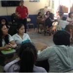 Alumnos del Instituto José Damián Villacorta reciben taller financiero sobre la importancia del Ahorro en alianza con Fundación Sparkasens