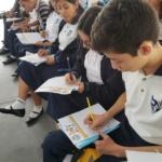 Becarios del Programa Superate de la Fundación Poma realizan test sobre el  ahorro