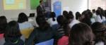 Becarios del Programa Empresarial Supérate de la Fundación Poma, reciben charla educativa sobre la Bolsa de Valores, impartida por el Lic. Luis Valladares de dicha entidad, el día jueves 21 de febrero de 2019.