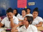 27 Alumnos del Instituto Nacional El Paraíso reciben taller financiero sobre Presupuesto, brindado por Pasantes de la SSF. Martes 13 de marzo de 2019.