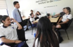 65 alumnos del Programa Empresarial Supérate de la Fundación Poma, fueron capacitados en el tema de Presupuesto, el día jueves 14 de marzo de 2019, en el turno vespertino.  La capacitación fue brindada por los Pasantes de la SSF, Ítalo Ferrufino y Saraí Rodríguez.