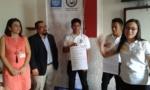"""38 Alumnos del Diplomado Cajero Bancario, del Club Digital de Programadores Ahuachapanecos en Computación (CDPAC), fueron beneficiados con el taller financiero denominado """"Los seguros, su importancia y tipos de seguros"""", impartido por la SSF. Viernes 8 de marzo de 2019."""
