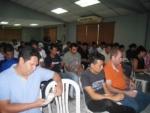 """SSF y Banco Promérica brindan taller financiero sobre """"El ahorro, gastos hormiga y cómo hacer un presupuesto"""", dirigido a 30 empleados de HILASAL, el 7 de marzo de 2019."""