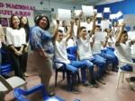 Taller y Certificación de educación financiera , para los alumnos del Instituto de Aguilares 29-10-19