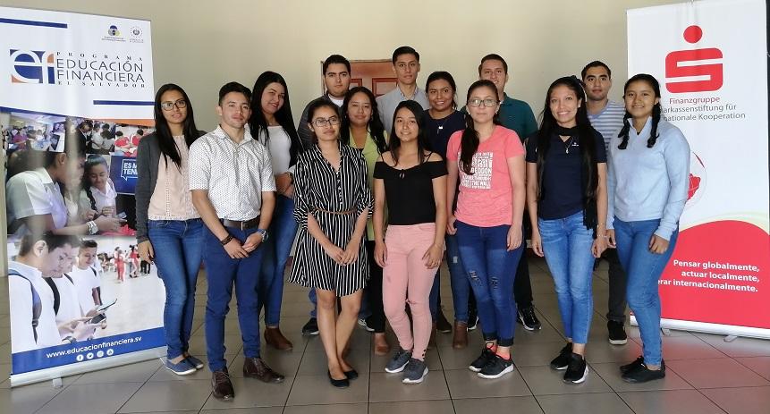 PROGRAMA DE EDUCACIÓN FINANCIERA DE EL SALVADOR CONTARÁ CON 16 NUEVOS FACILITADORES