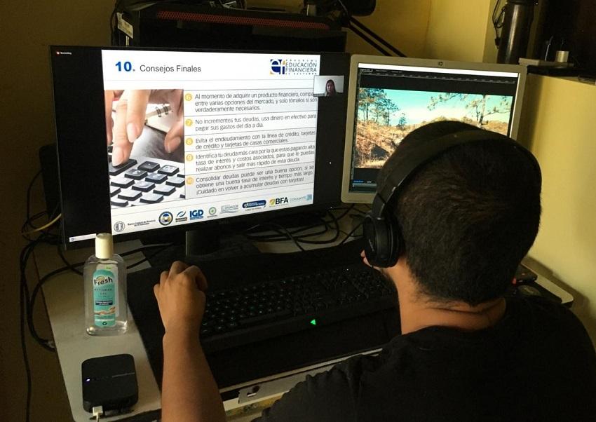 Programa Educación Financiera imparte capacitaciones en línea