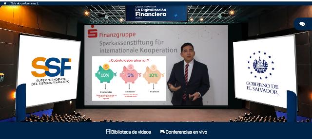 """Fundación Sparkassen brinda ponencias sobre el ahorro  en el marco del espacio de innovación: """"La Digitalización Financiera"""""""